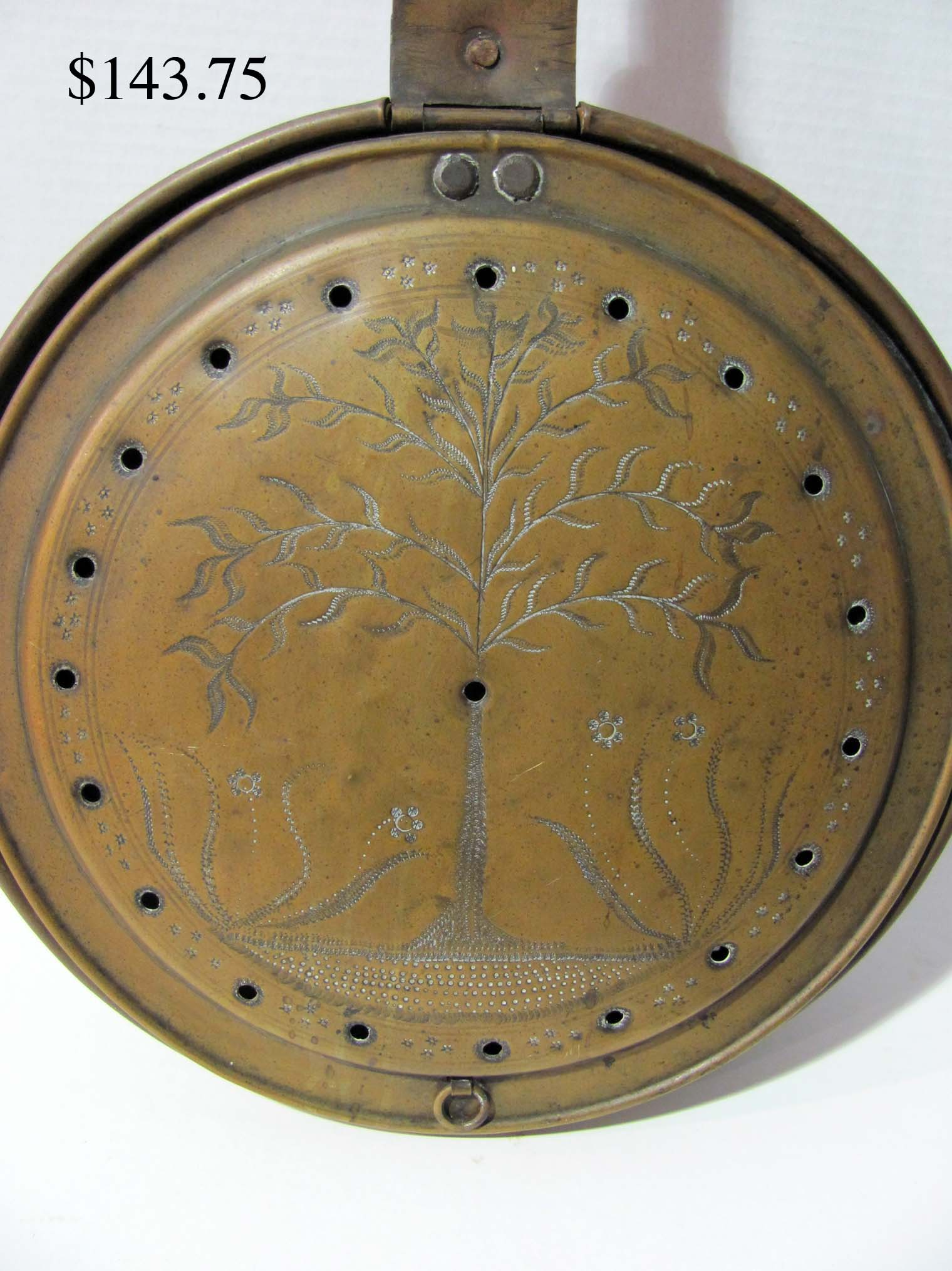 lot 60 tree of life coal pan jpg