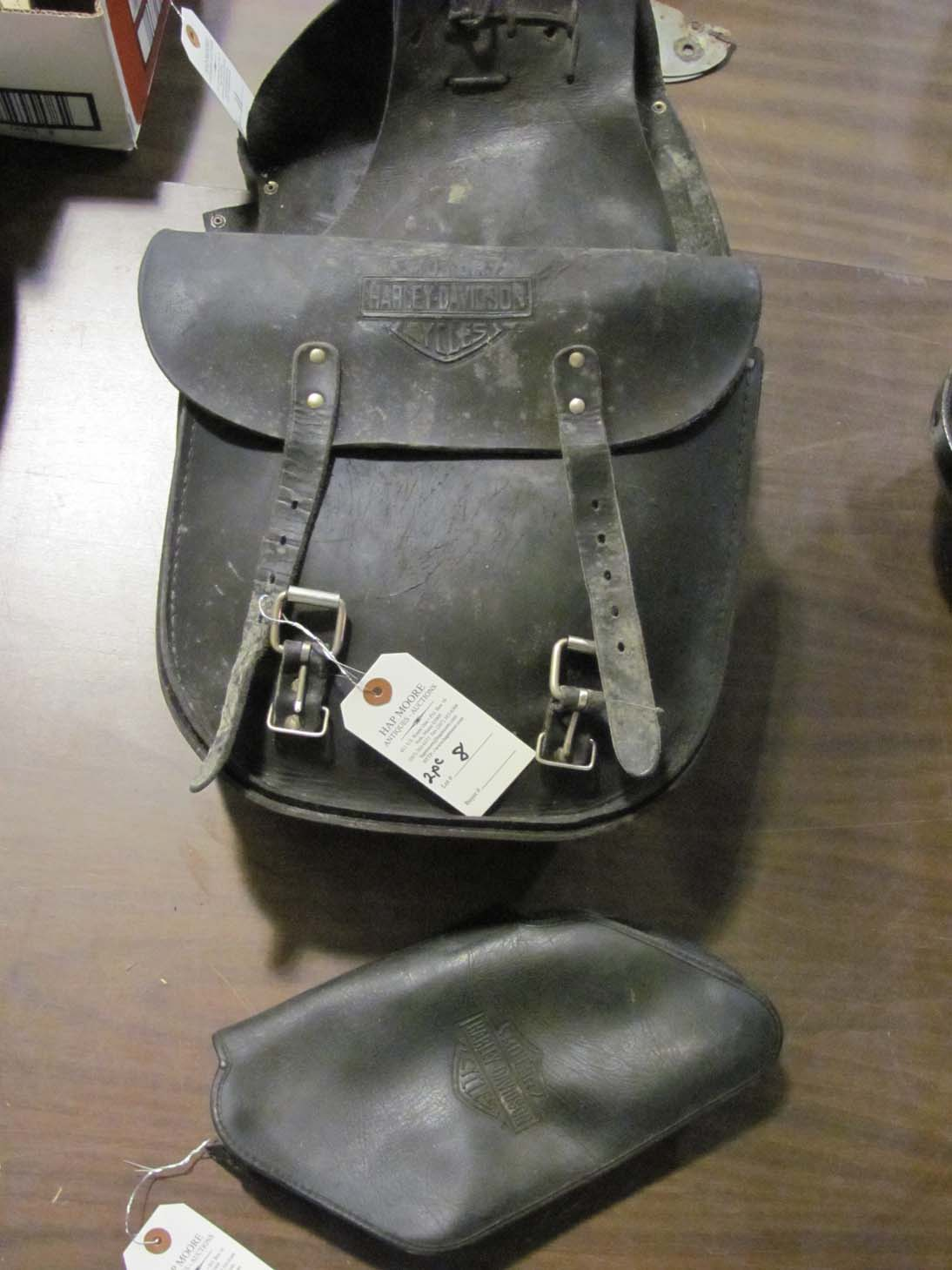 Harley Davidson Saddlebags: Hap Moore Antiques Auctions March 13, 2010