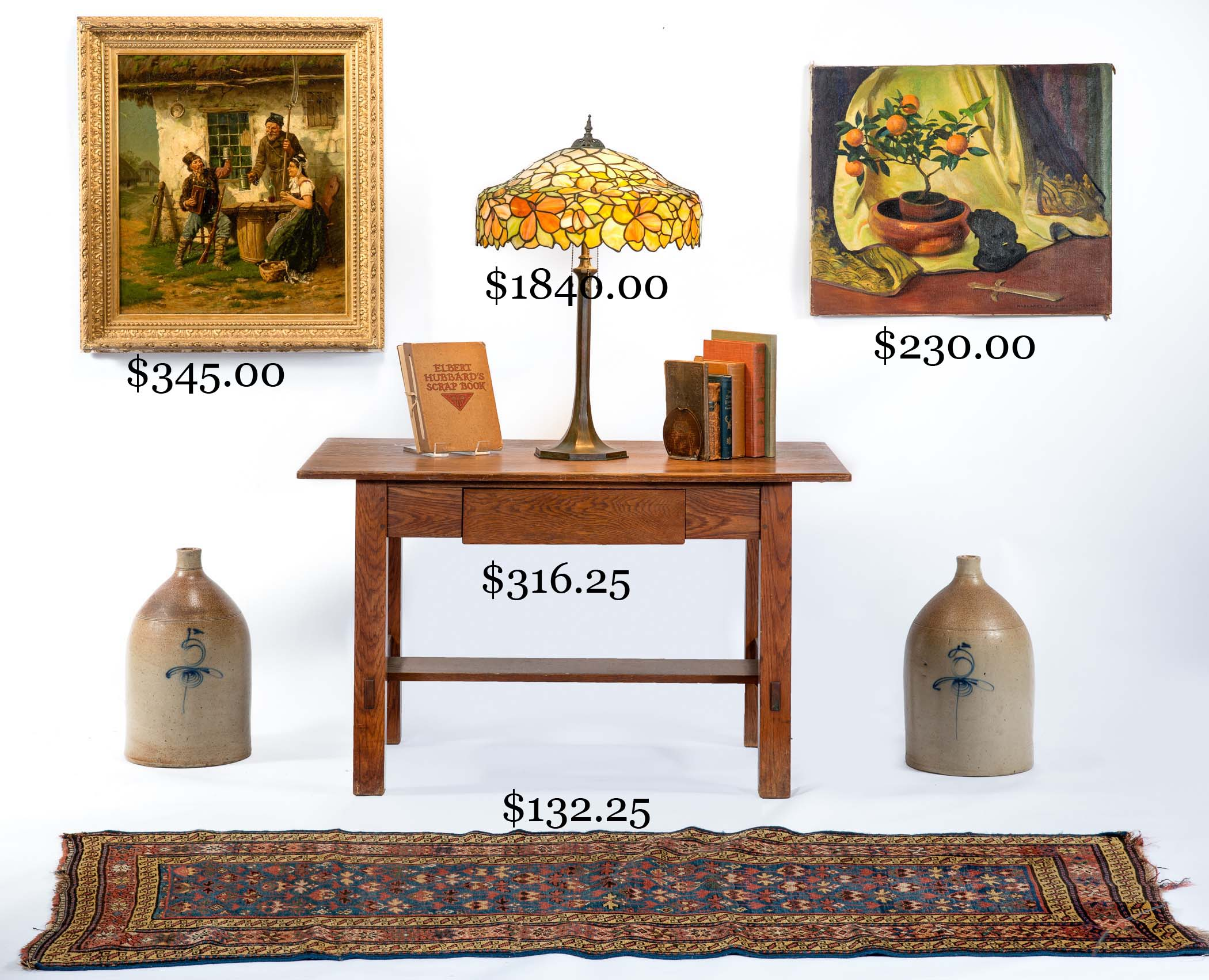 Selling a diverse selection of antiques, period and decorative ...