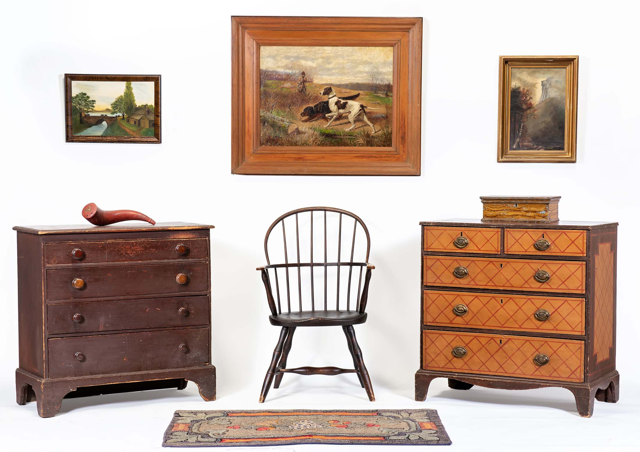 Auction of Estate Antiques Saturday, December 15, 2018 at 10