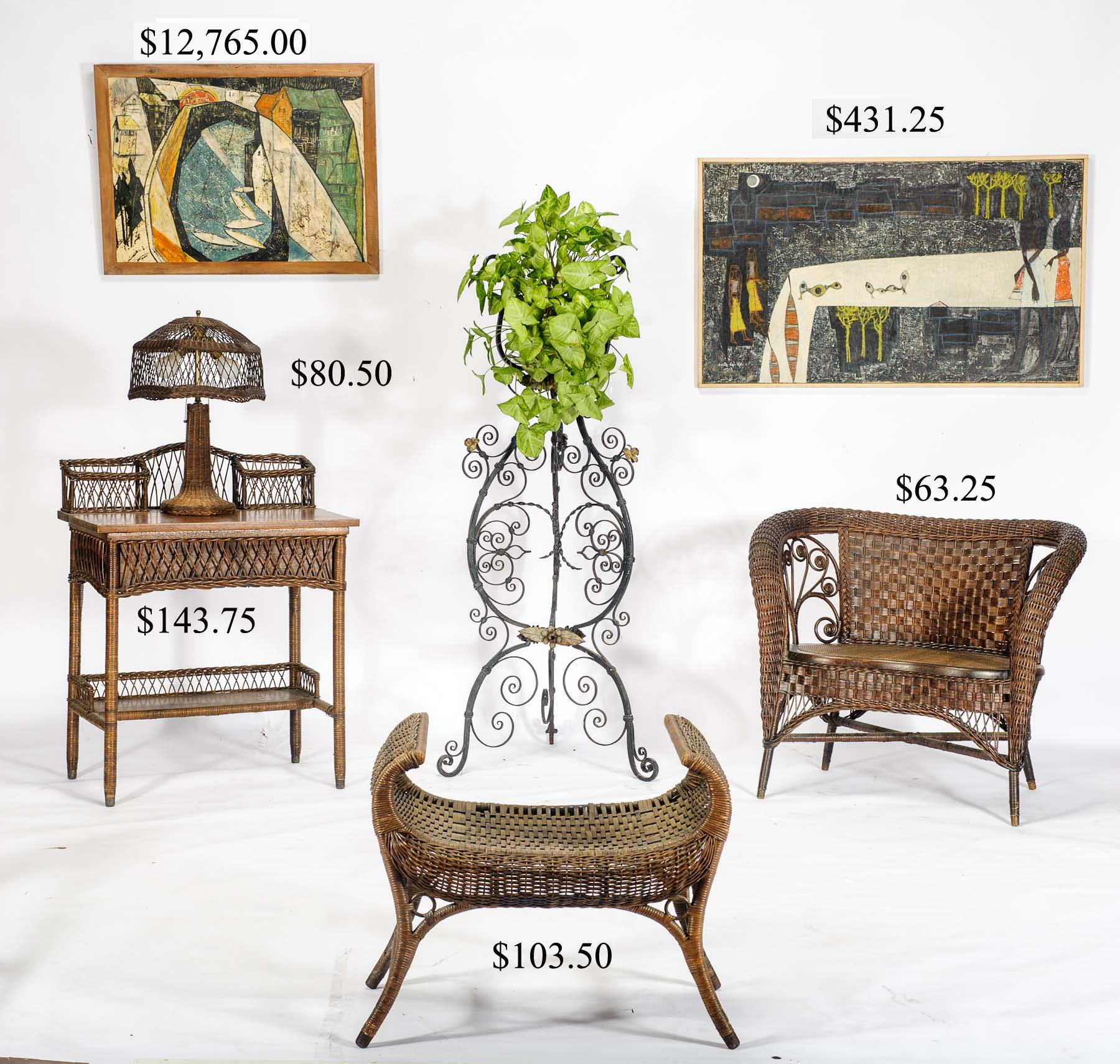 Hap Moore Antiques Auctions : wicker from www.hapmoore.com size 1800 x 1711 jpeg 374kB