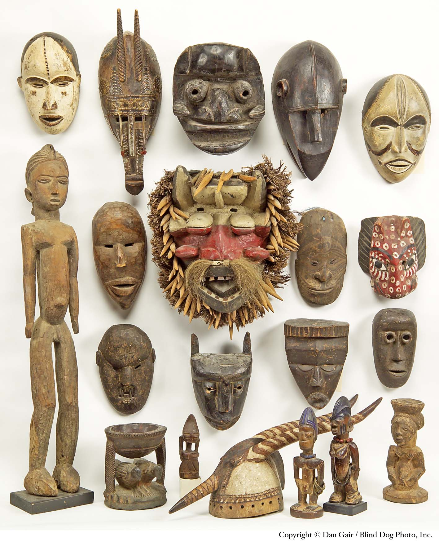 Simple African Tribal Masks Images